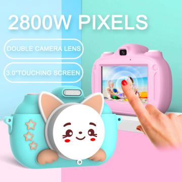 Dual camera with WiFi cute children HD digital camera photo mini camera sports video recorder educational toys Kids Camera