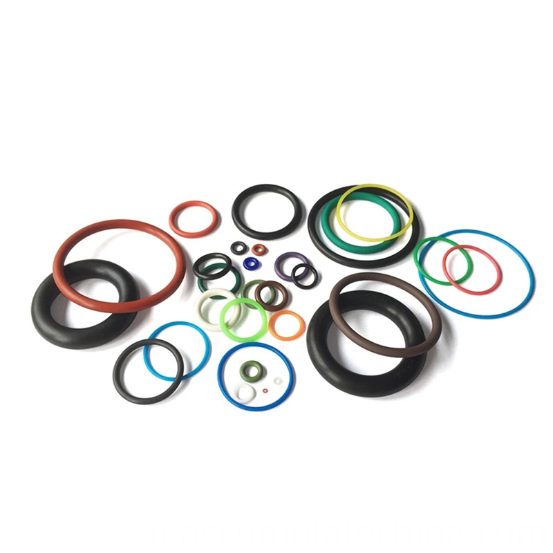 Colorful Nbr Silicone Rubber O Rings