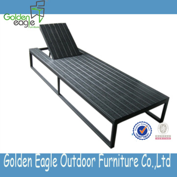 Rattan Outdoor Garden Rattan Lounger Beach Lounger