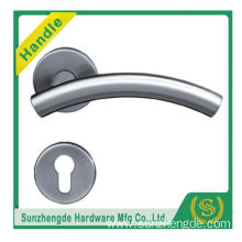 SZD STH-105 Decorative Stainless Steel Solid Lever Door Handle On Sprung Rose with cheap price