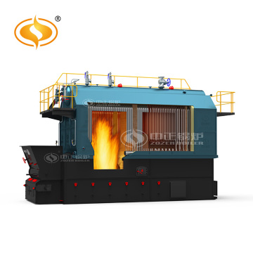 6t/H Wood Fired Furnace Water Tube Steam Boiler