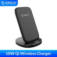 ORICO Qi Fast Wireless Charging Dock Station Mobile Phone Holde for iPhone X XS 8 Samsung Phone Charger With Receiver for Xiaomi