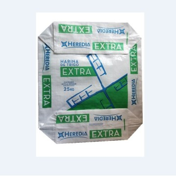 Food Grade Block Bottom Valve Flour PP-zak