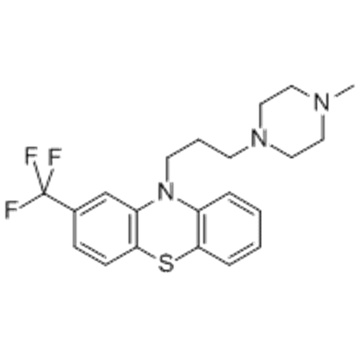 10H-Phenothiazine,10-[3-(4-methyl-1-piperazinyl)propyl]-2-(trifluoromethyl)- CAS 117-89-5