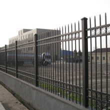 villa security zinc steel fence