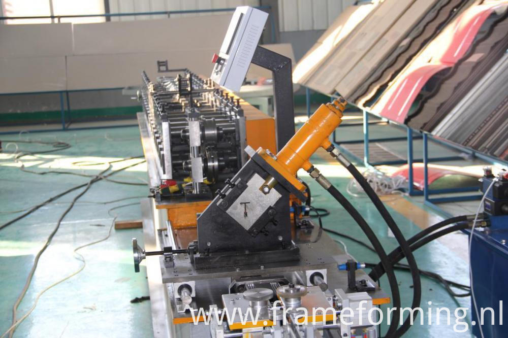 Half automatic Ceiling Tee bar roll forming machine