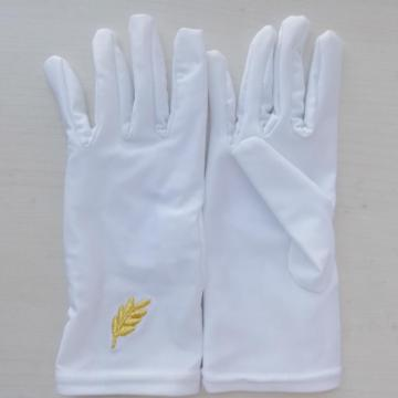 White Cotton Church Gloves