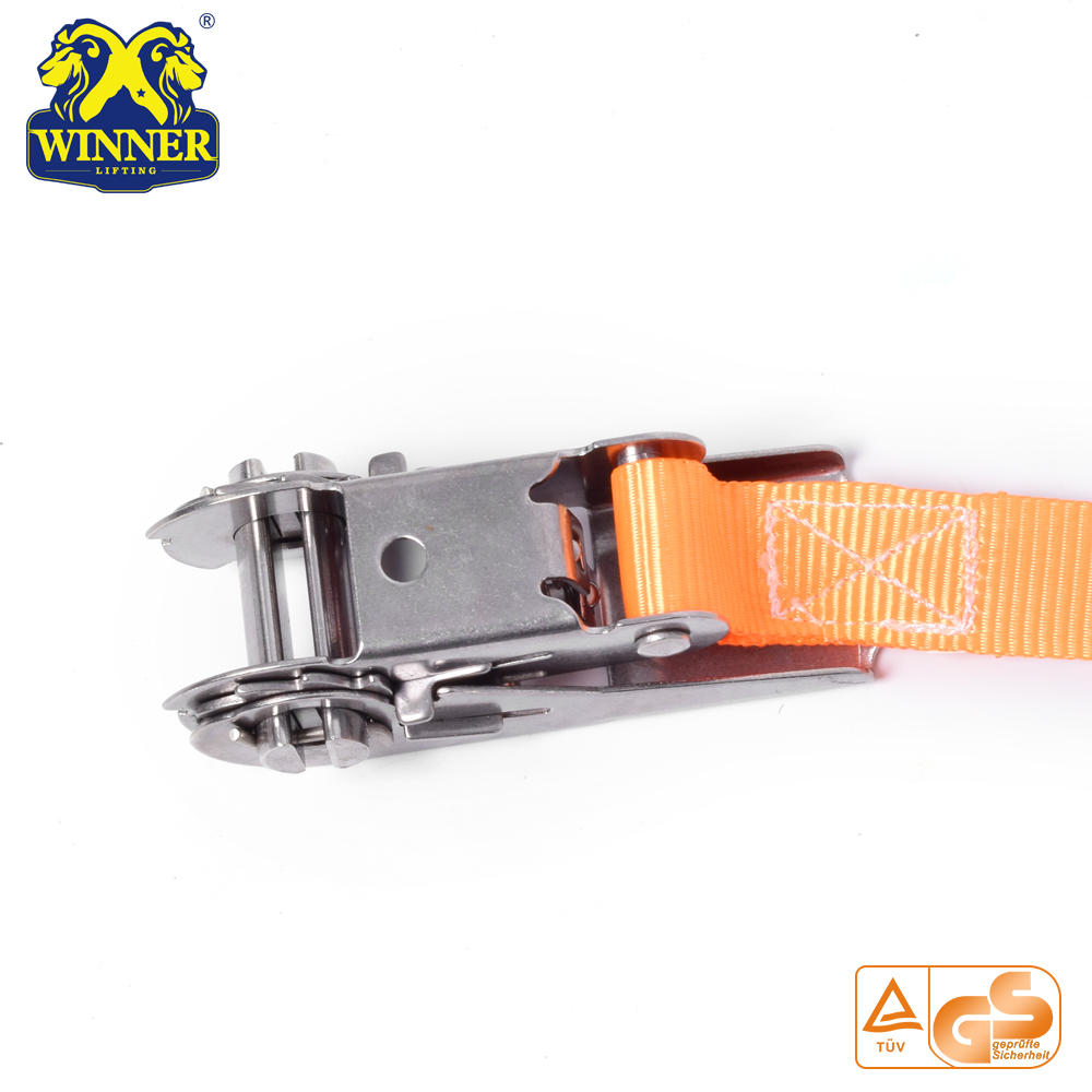 Mini Metal Buckle Ratchet Strap And Cargo Lashing Belt