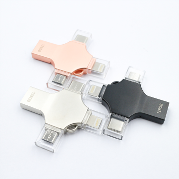 4 in 1 Otg Usb Flash Drive Type-c