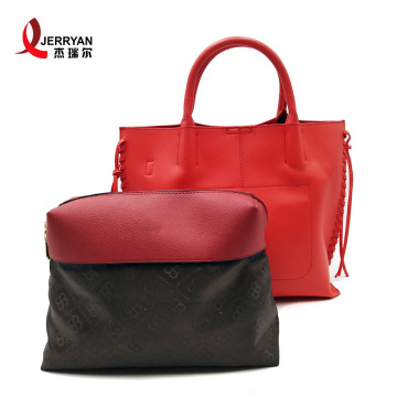 Red Patent Leather Tote Branded Handbags on Sale