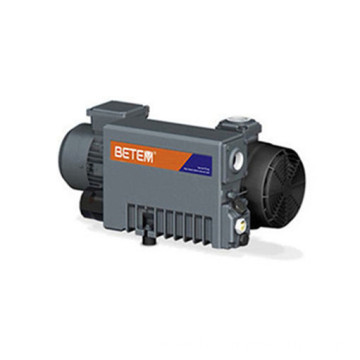 Industrial single stage rotary vane vacuum pump