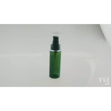 Chinese manufacturer plastic cosmetic packaging 15-120ml transparent cosmetic airless bottle