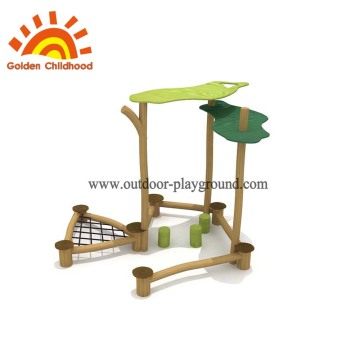 Wooden playground house equipment blueprints