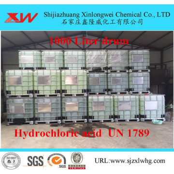Hydrochloric acid standard specification