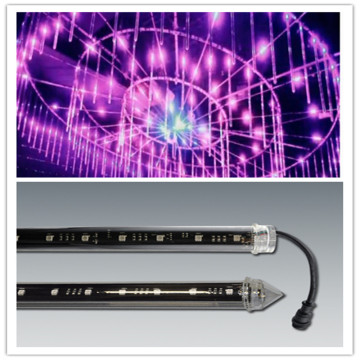 Led Meteor Shower Rain 3D Tube Stage Lights
