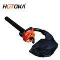 Hand-held gasoline air leaf blower