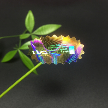 Printing PET 3D Hologram Label Sticker