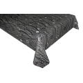 Solid Embossed Fabric Tablecloth X Ray