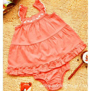 Girls' Children'S Clothing Knitted Two-Piece Comfortable