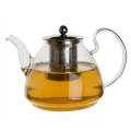 Lead Free Antique Glass Teapots with Strainer