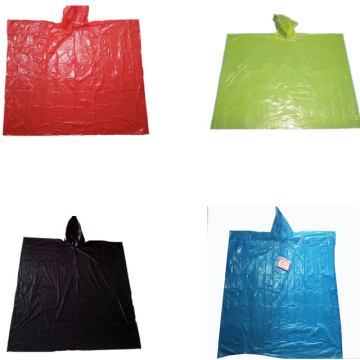 Promotional Cheap Summer PE Waterproof  Rain poncho