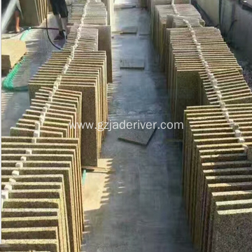 Yellow Rust Stone Granite Garden Construction Stone