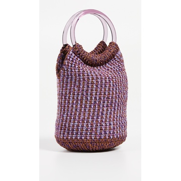 Hot Sale Handmade Crochet Bag With Lining