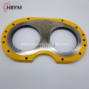 Zoomlion Concrete Pump Wear Plate And Ring Systems