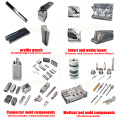 Mould components wedm inserts and contour punches