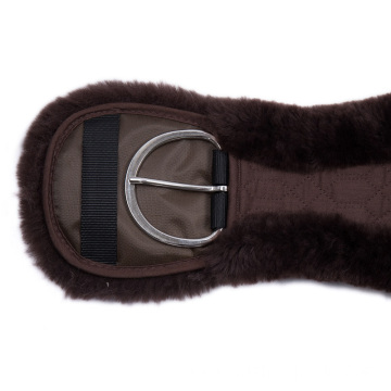 D-Ring Sheepskin Horse Girth