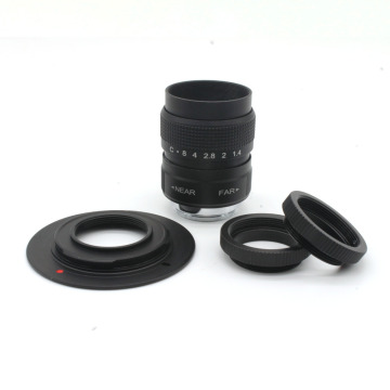 25mm f/1.4 Miniature SLR Lens for Olympus Panasonic Micro 4/3 E-P1 P3 G1 GF5 with c-m4/3 adapter ring free shipping+ 2xMacro