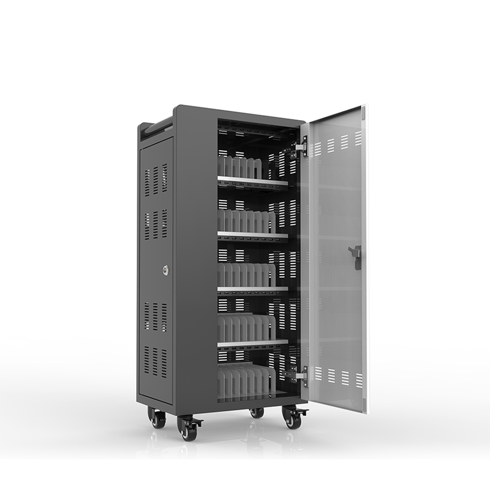 Sync date phone charging cabinet