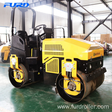 3 ton Double Smooth Drum Roller for Sale