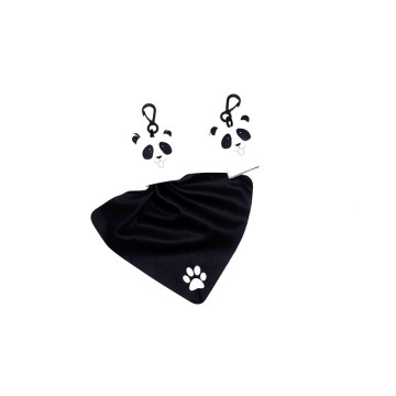 microfiber cute-shape pendent cloth in CMYK printing