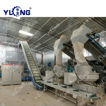 2-3t/h CE Biomass wood pellet production line