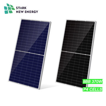 Customizable TUV Solar Panel Poly 370W 9BB Half-cut