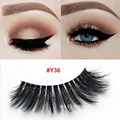Venta al por mayor 3D Faux Mink Lashes invisible banda de pestañas de seda