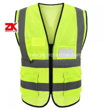 economical ansi class 2 safety vest with pockets