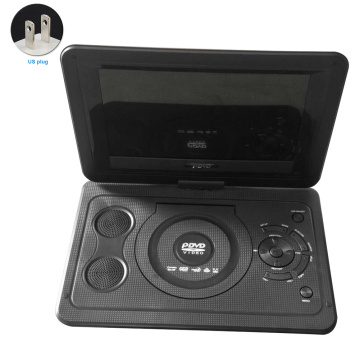 DVD Player Portable Rechargeable Battery HD 13.9inch TV Game CD Car Swivel Screen Outdoor LCD Mini Home USB