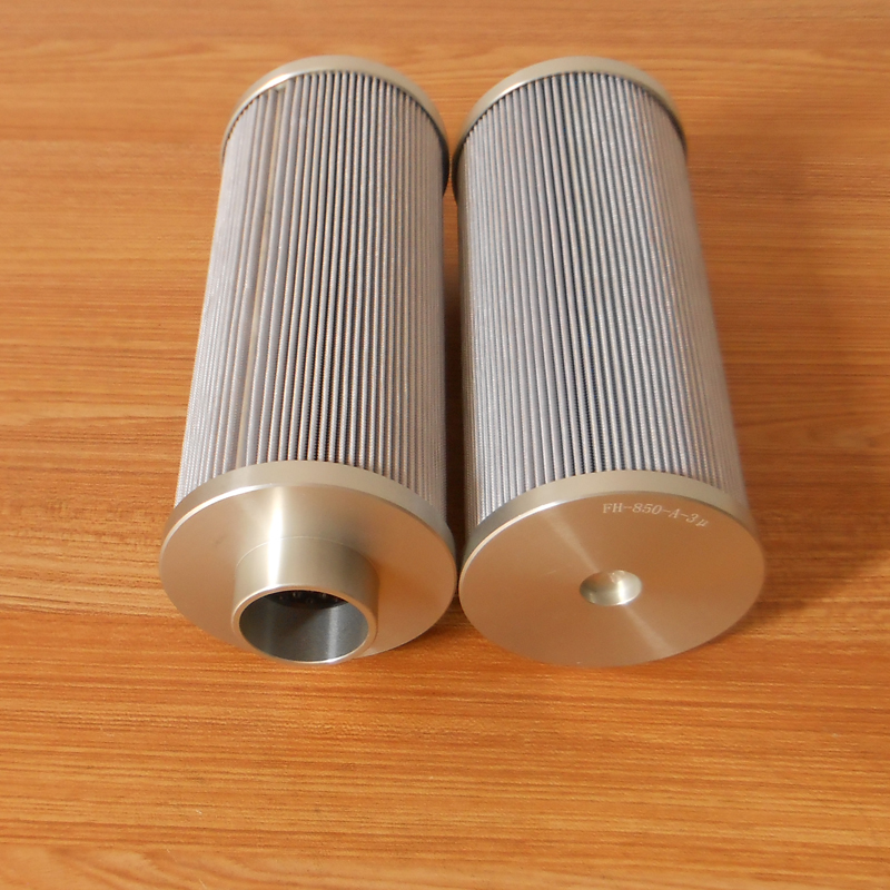 Glass Fiber Pleated Oil Filter Element