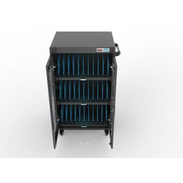 laptop storage & charging cart for 30 laptops