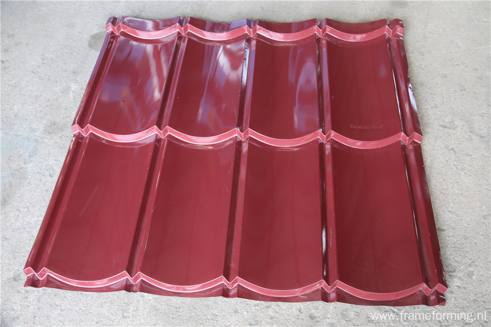 The Making Machinery Of Steel Roof Tile Roll