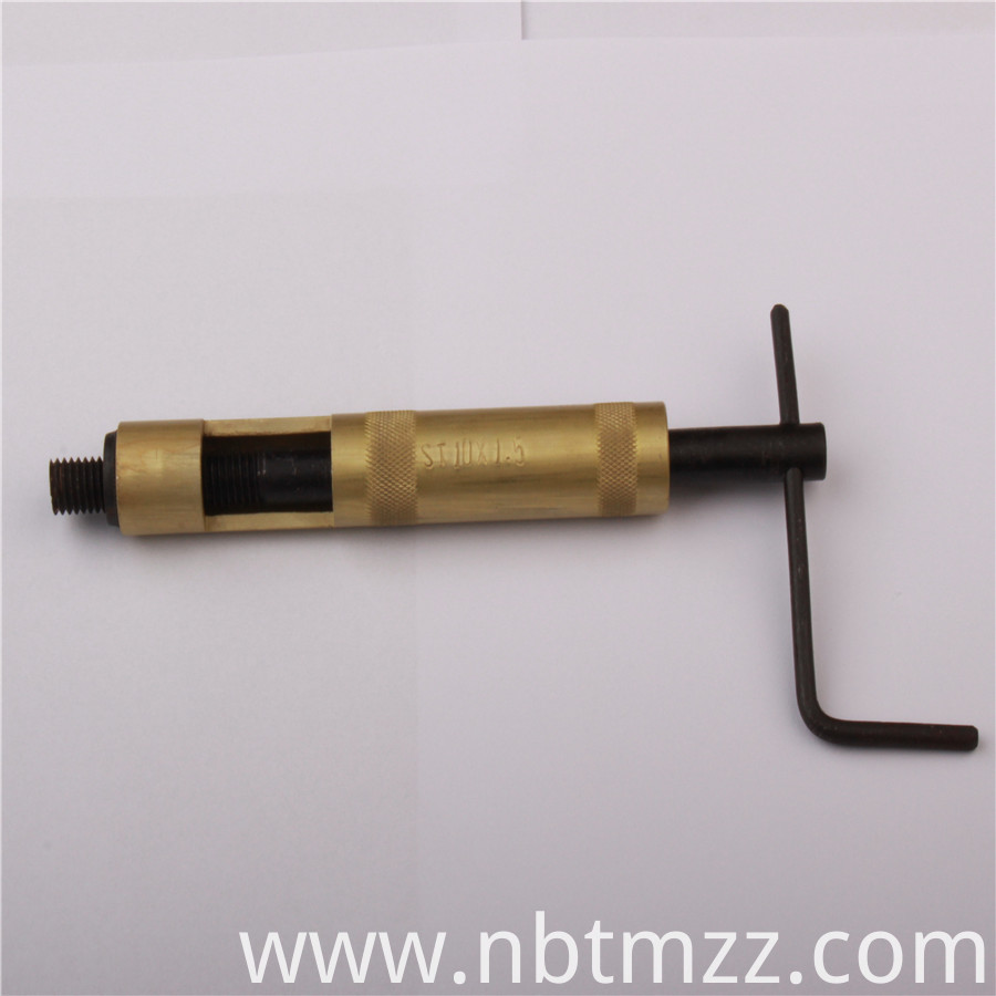 Helical Screw Insert Installation Tool for metal