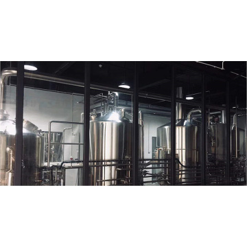 Custom Built 4 Vessel Brewhouse