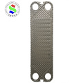 H17 plate heat exchanger plate hastelloy alloy ss316l