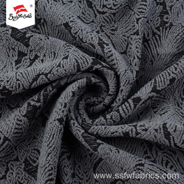 Plain Fashion Mesh Jacquard Fabric For Dress