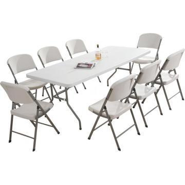 5FT folding plastic table