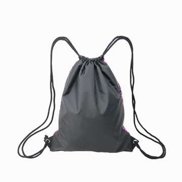 Benutzerdefinierte Pailletten Kordelzugbeutel Unicorn Magic Backpack