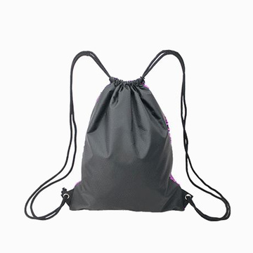 Custom Cekiny Drawstring Bag Unicorn Magic Backpack