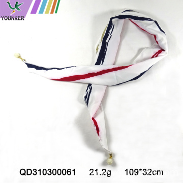CONCISE PRINTING POLYESTER SCARF